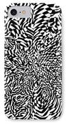Entangle IPhone Case by Crystal Hubbard