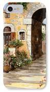 Entrata Al Borgo IPhone Case by Guido Borelli