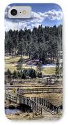 Evergreen Colorado Lakehouse IPhone Case by Ron White