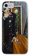 Existential Thought IPhone Case by Valerie Vescovi