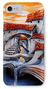 Fairy Tale City - Magic Stream IPhone Case by Emerico Imre Toth