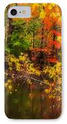 Fall Reflection IPhone Case by Robert Mitchell