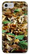Fallen Leaves IPhone Case by Carlos Caetano