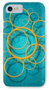 Family Circles IPhone Case by Cristophers Dream Artistry