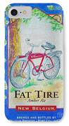 Fat Tire IPhone Case by Cheryl Young