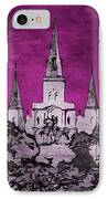 Fat Tuesday Eve IPhone Case by Kathy Bassett