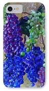 Festival Of Grapes IPhone Case by Eloise Schneider