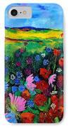 Field Flowers IPhone Case by Pol Ledent