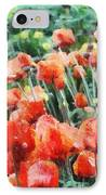 Field Of Flowers IPhone Case by Jeff Kolker