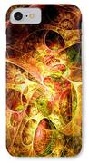Fire And Shadow IPhone Case by Anastasiya Malakhova