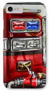 Fireman - Fire Engine IPhone Case by Paul Ward