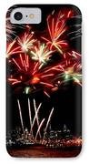 Fireworks Over The Delaware IPhone Case by Nick Zelinsky