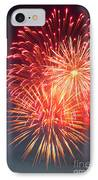 Fireworks Series II IPhone Case by Suzanne Gaff