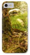 Firmly Rooted IPhone Case by Bonnie Bruno