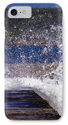 Fishing Beyond The Surf IPhone Case by Terri Waters
