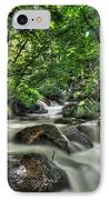 Flooded Small Stream  IPhone Case by Dan Friend
