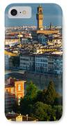 Florence Panorama IPhone Case by Inge Johnsson