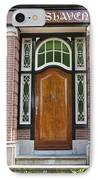 Florishaven Doorway IPhone Case by Phyllis Taylor