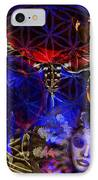 Flower Of Creation  IPhone Case by Joseph Mosley