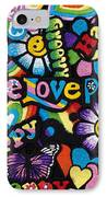 Flower Power IPhone Case by Tim Gainey