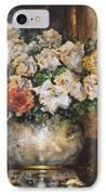 Flowers Of My Heart IPhone Case by Dariusz Orszulik