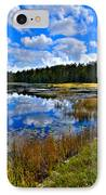 Fly Pond In The Adirondacks II IPhone Case by David Patterson