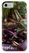 Food - Vegetables - Very Fresh Produce  IPhone Case by Mike Savad