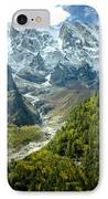Forest And Mountains In Himalayas IPhone Case by Raimond Klavins