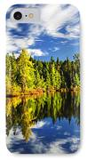 Forest Reflecting In Lake IPhone Case by Elena Elisseeva