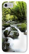 Forest Stream IPhone Case by Les Cunliffe