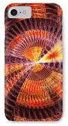 Fractal - Abstract - The Constant IPhone Case by Mike Savad