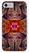 Fractal - Aztec - The Aztecs IPhone Case by Mike Savad