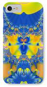 Fractal Owl IPhone Case by Ian Mitchell