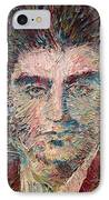 Franz Kafka Oil Portrait IPhone Case by Fabrizio Cassetta