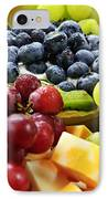 Fresh Fruits And Cheese IPhone Case by Elena Elisseeva
