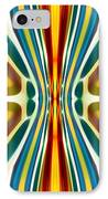 Fury Pattern 6 IPhone Case by Amy Vangsgard