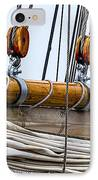 Gaff And Mainsail IPhone Case by Marty Saccone