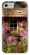 Garden - Belvidere Nj - My Little Cottage IPhone Case by Mike Savad