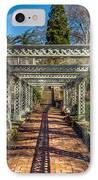 Garden Path IPhone Case by Adrian Evans