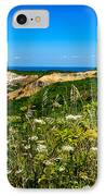 Gay Head Light And Cliffs IPhone Case by Mark Miller