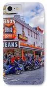Geno's 3 IPhone Case by Jack Paolini