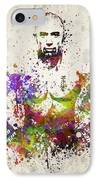 Georges St-pierre IPhone Case by Aged Pixel