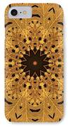 Gold Oak Leaves IPhone Case by Dawn LaGrave