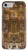 Gothic Altar Screen IPhone Case by Joan Carroll