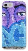 Graffiti Art Santa Catarina Island Brazil IPhone Case by Bob Christopher