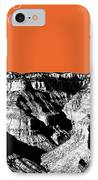 Grand Canyon - Coral IPhone Case by DB Artist