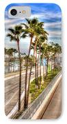 Grand Prix Of Long Beach IPhone Case by Heidi Smith