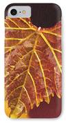 Grapevine In Fall IPhone Case by Artist and Photographer Laura Wrede