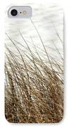 Grass Down By The Shore Of Virginia Beach IPhone Case by Artist and Photographer Laura Wrede