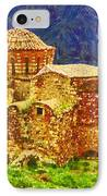 Greek Church 6 IPhone Case by George Rossidis